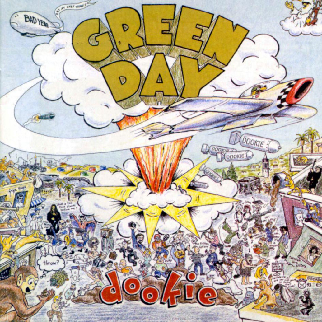 Album Rock Terbaik - Green Day - Dookie