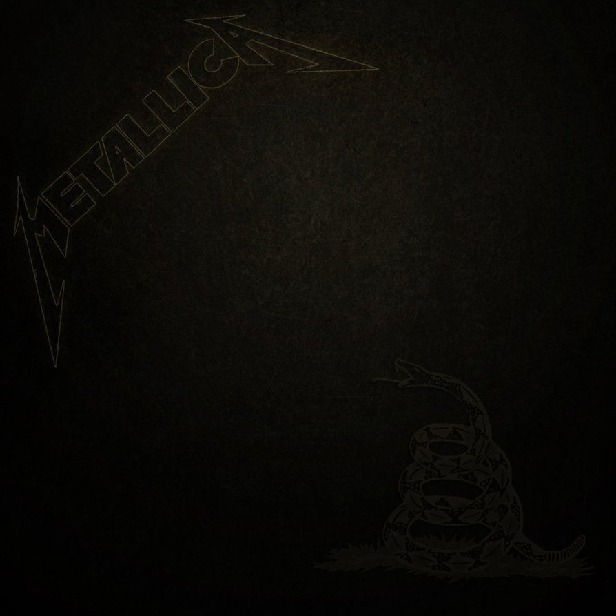 Album Rock Terbaik Metallica - The Black Album